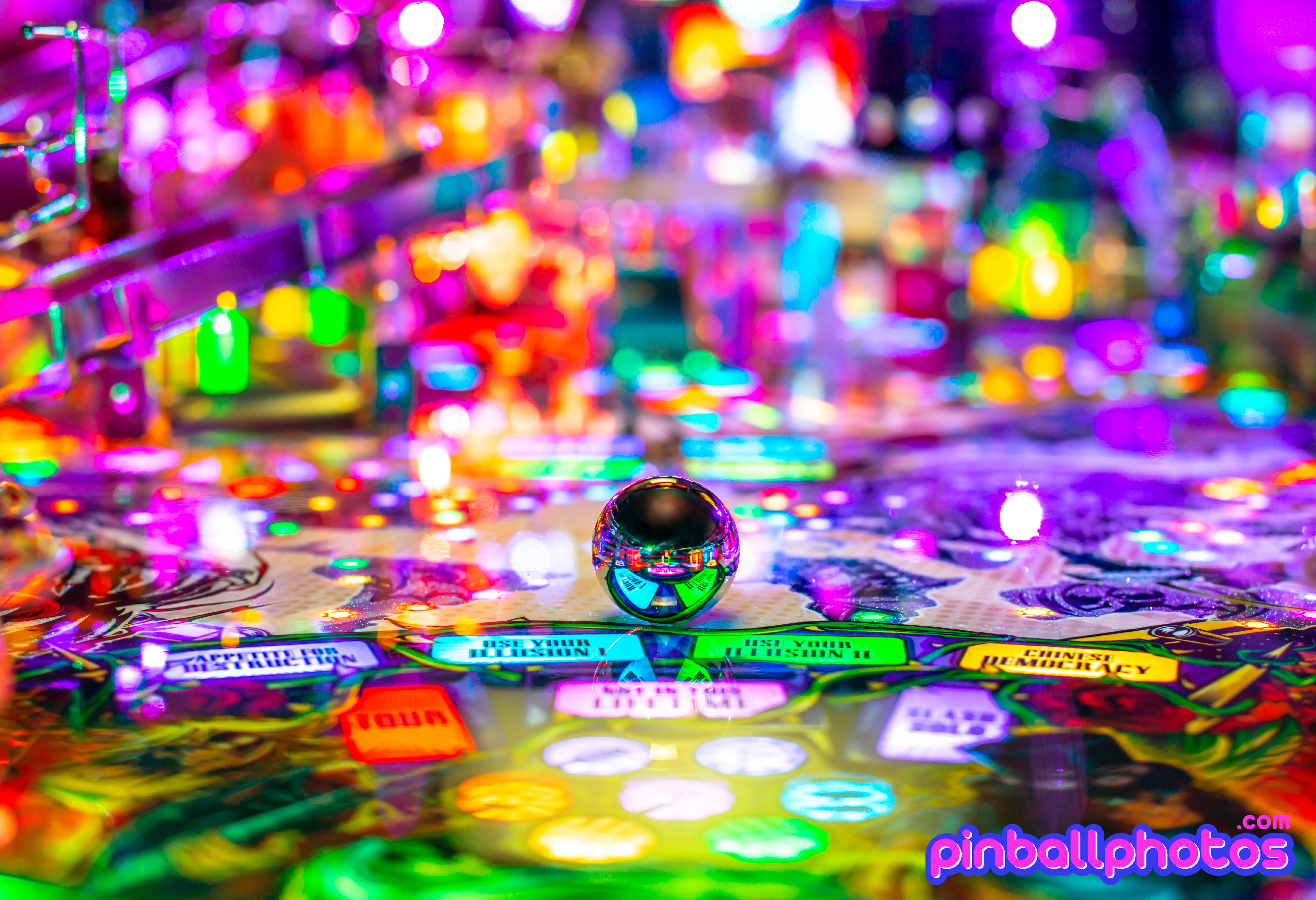 Pinball Photography